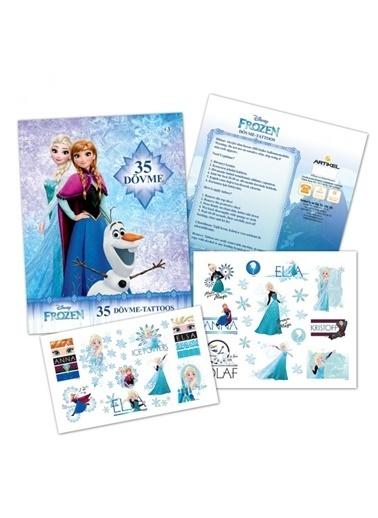 Disney Frozen Tattoo Renkli